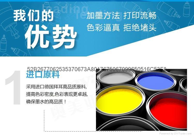 Dye ink for Canon PGI-5/820/520/220/320/125/225/325/425/525/725/825BK  1