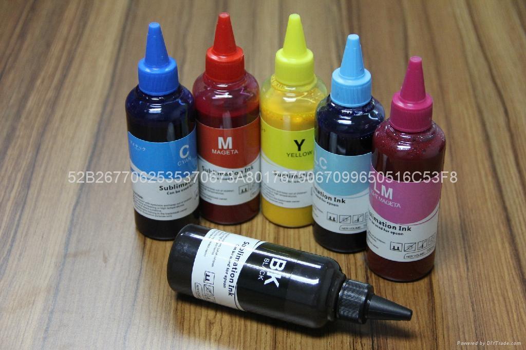 高級服裝印花分散墨水 熱轉印墨水 熱昇華墨水 5