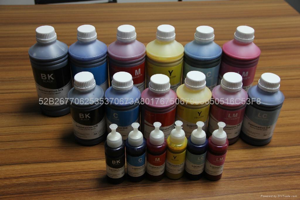 耐刮、耐洗、不开裂、不剥落、不褪色 热转印墨水 热升华墨水 3
