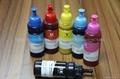 耐刮、耐洗、不開裂、不剝落、不褪色 熱轉印墨水 熱昇華墨水 5