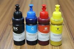 高品質黑色加黑 EPSON T50 T60 熱轉印墨水