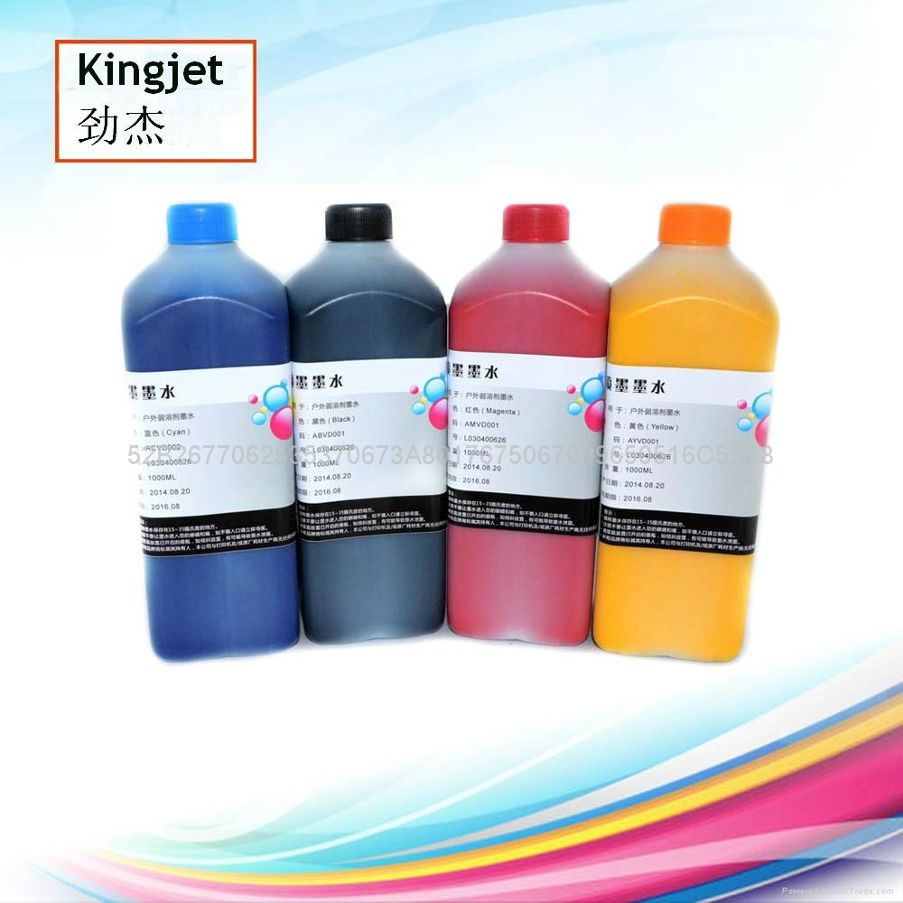 Wholesale Quality Eco Solvent Ink DX5 for Roland Mimaki Mutoh Plotters  6