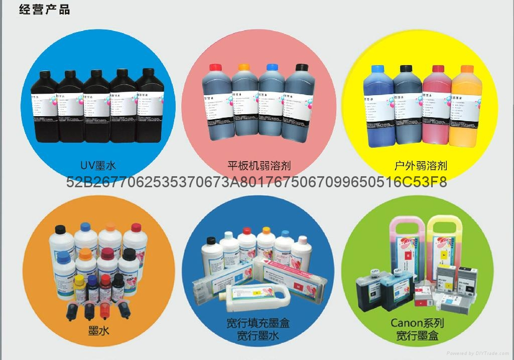 Cheap hot sale Printer eco solvent ink  4