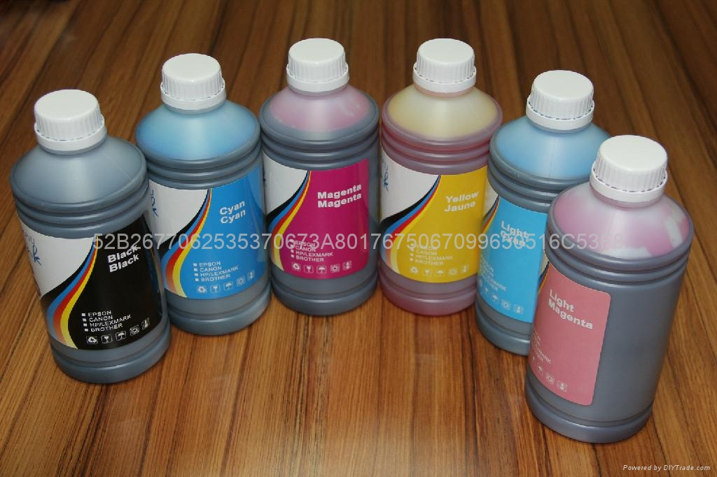 Special pigment ink suitable for Epson desktop printer  4