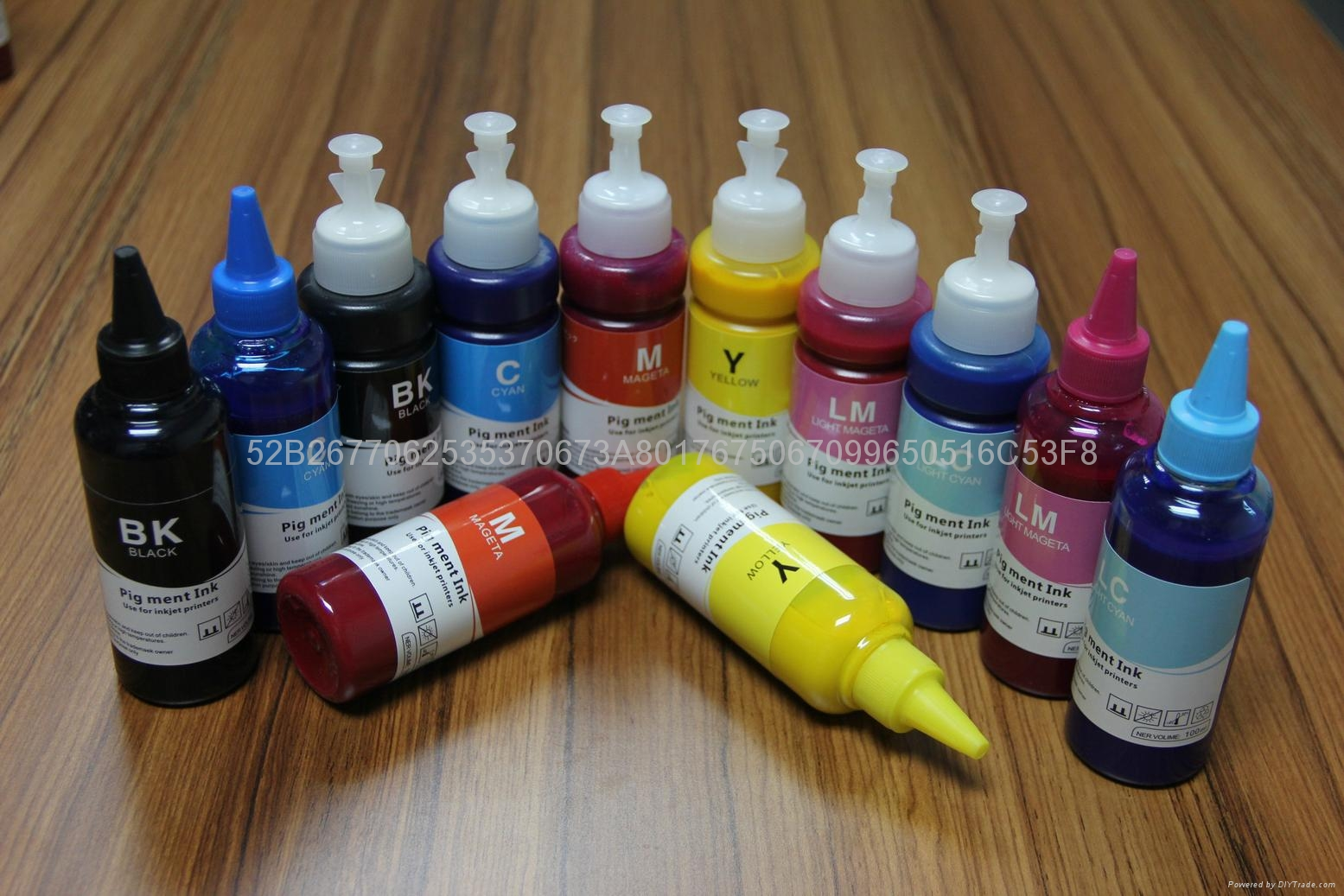 Hot selling art paper pigment ink for Epson R2400/7800/9800/7880C/4880C  1