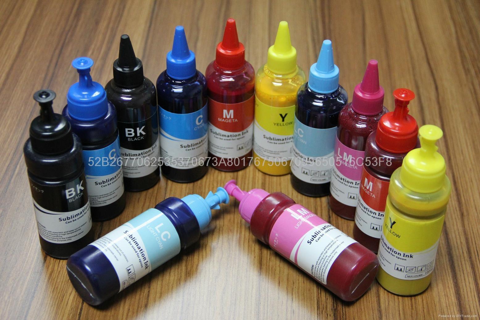Desktop Sublimation ink Compatible to inkjet for epson printers 5