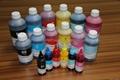 No plug nozzle special black dye sublimation ink
