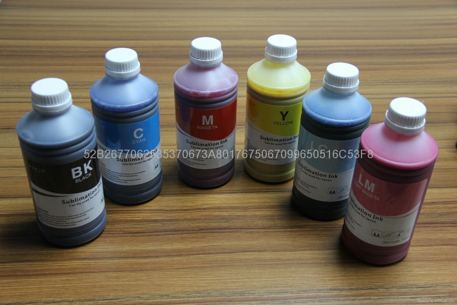 厂家热销 高品质 爱普生 F6080 热转印墨水 热升华墨水 5