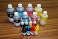 Deep black and fast dry dye sublimation ink