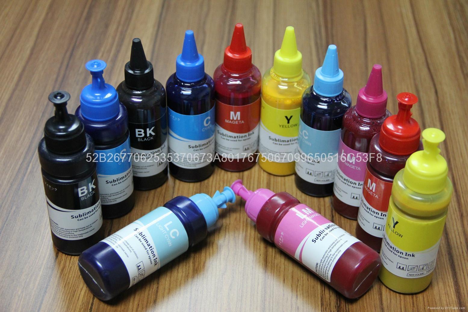 高端 数码印花 烫画墨水 涤纶印花墨水 热转印墨水 热升华墨水 2