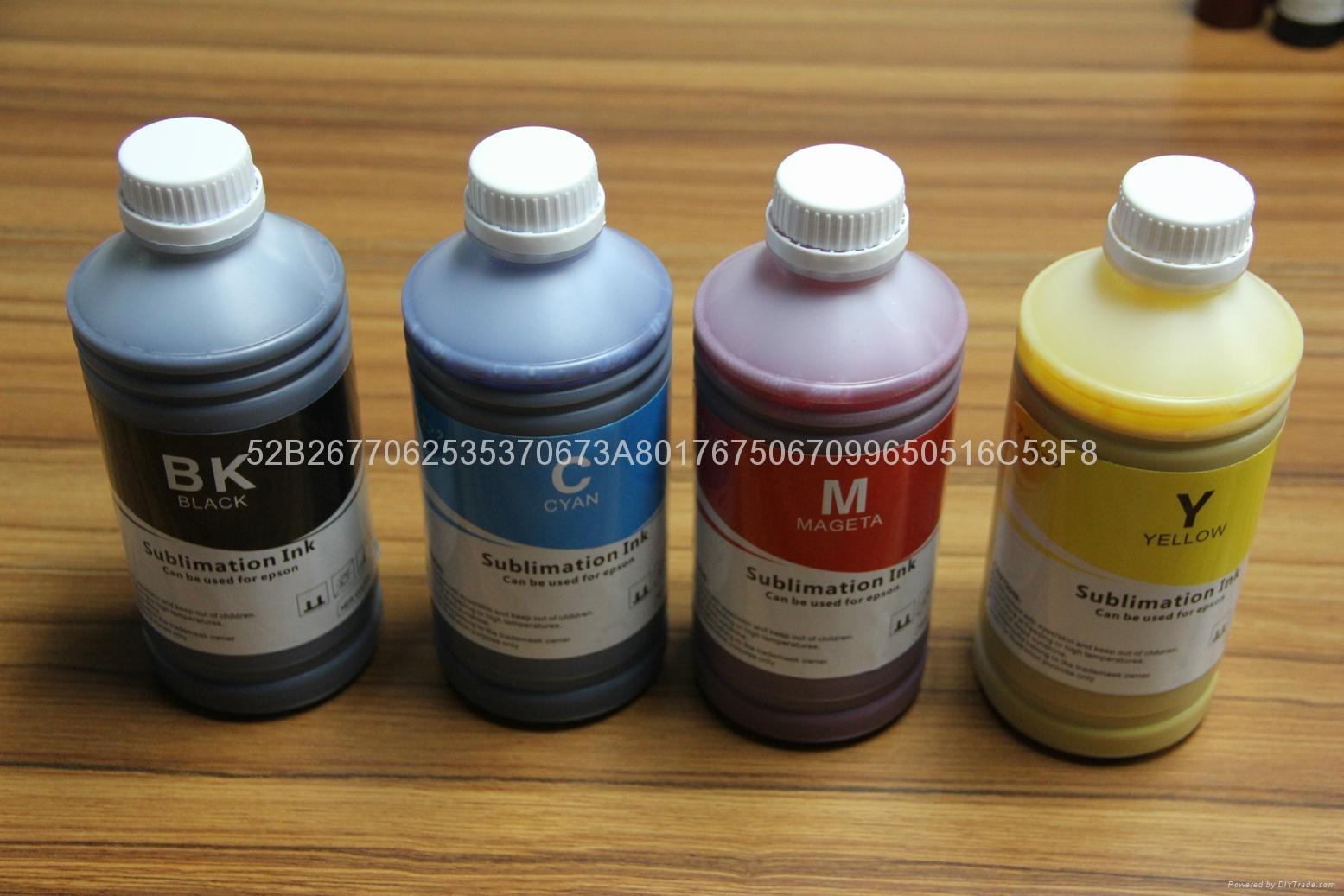 高端 数码印花 烫画墨水 涤纶印花墨水 热转印墨水 热升华墨水 1