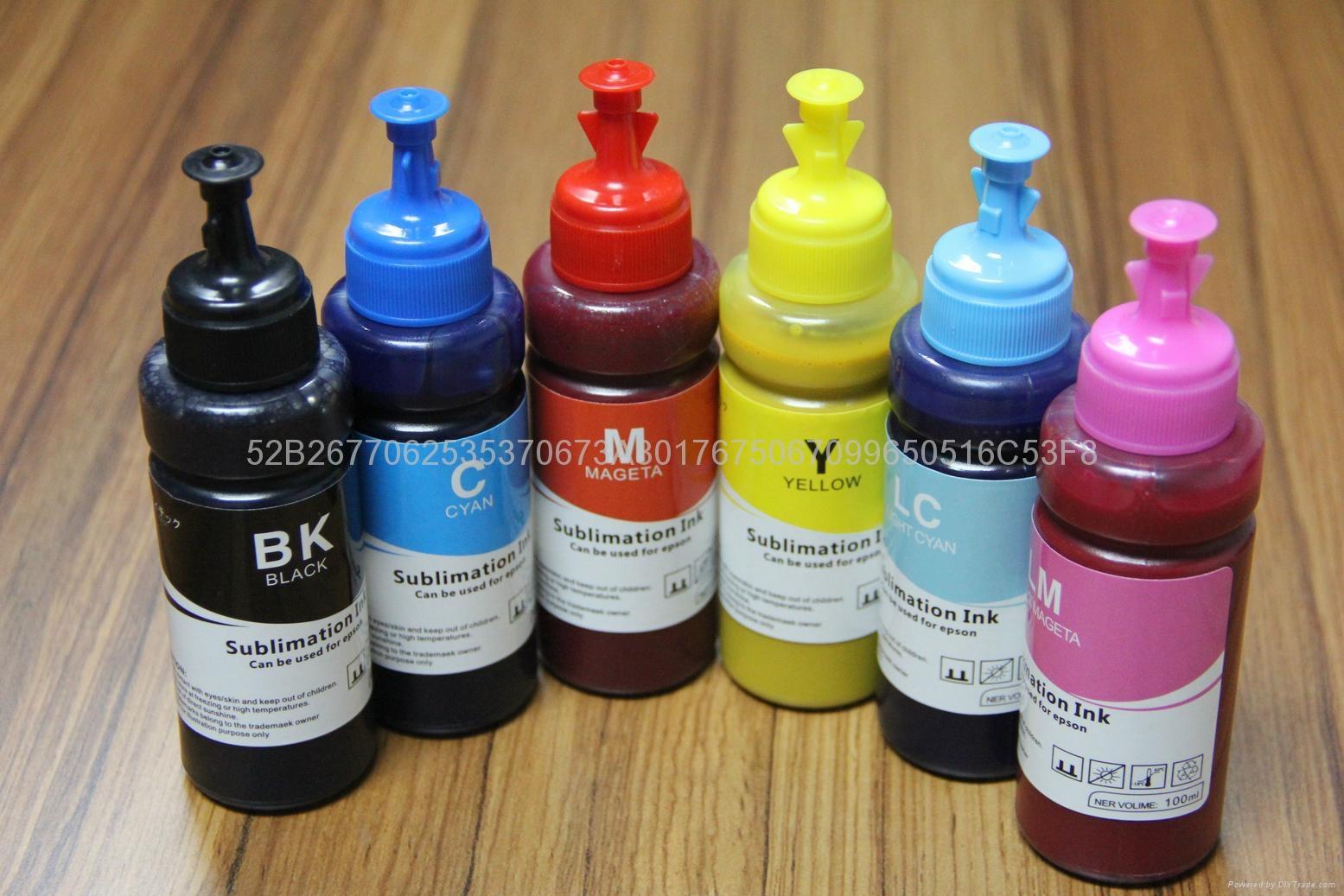 6 color sublimation ink for epson 1390 1400 1410 inkjet printer ink  4