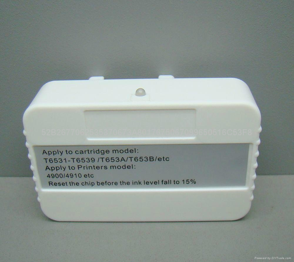 100% Compatible For Epson Gs6000 Chip Resetter With cartridge chip  4