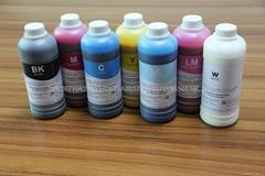 2014 head High Quality Textile Liquid Printing Ink for Epson printhead (1000ml)