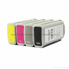 Compatiable inkjet cartridge 70 72 for hp t1100 t610 wide format printer