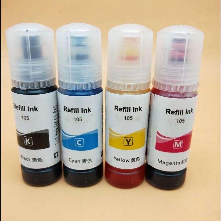 Vivid color dye ink for Epson 105 106 with Epson ECOTANK ET7700 7750 printer 2