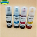 Vivid color dye ink for Epson 105 106 with Epson ECOTANK ET7700 7750 printer