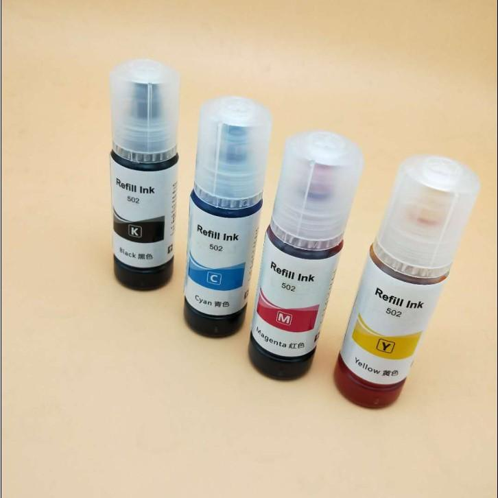 Factory direct supply new product dye ink for Epson 502 with ET3750