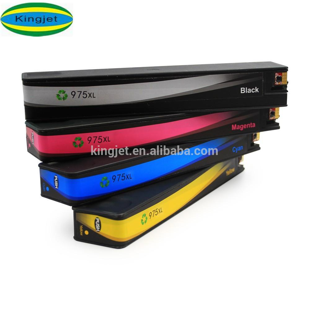 Newest product compatible ink cartridge for HP 975 975XL with full ink
