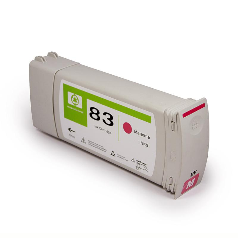 Newest product ink cartridge 83 for HP Designjet 5000 5500 with ink 3