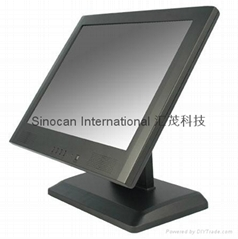 "17"" LCD Touch Screen Monitor"