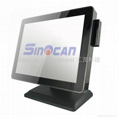無風扇觸摸屏POS系統F10系列N2800 1.86GHz CPU