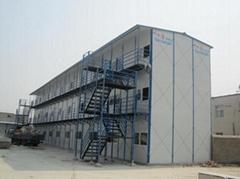承接:钢结构楼房、厂房工程、岩棉活动房、二手彩钢房、集装箱房