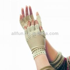磁力点硅胶关节炎手套,用于缓解关节肿胀痛苦