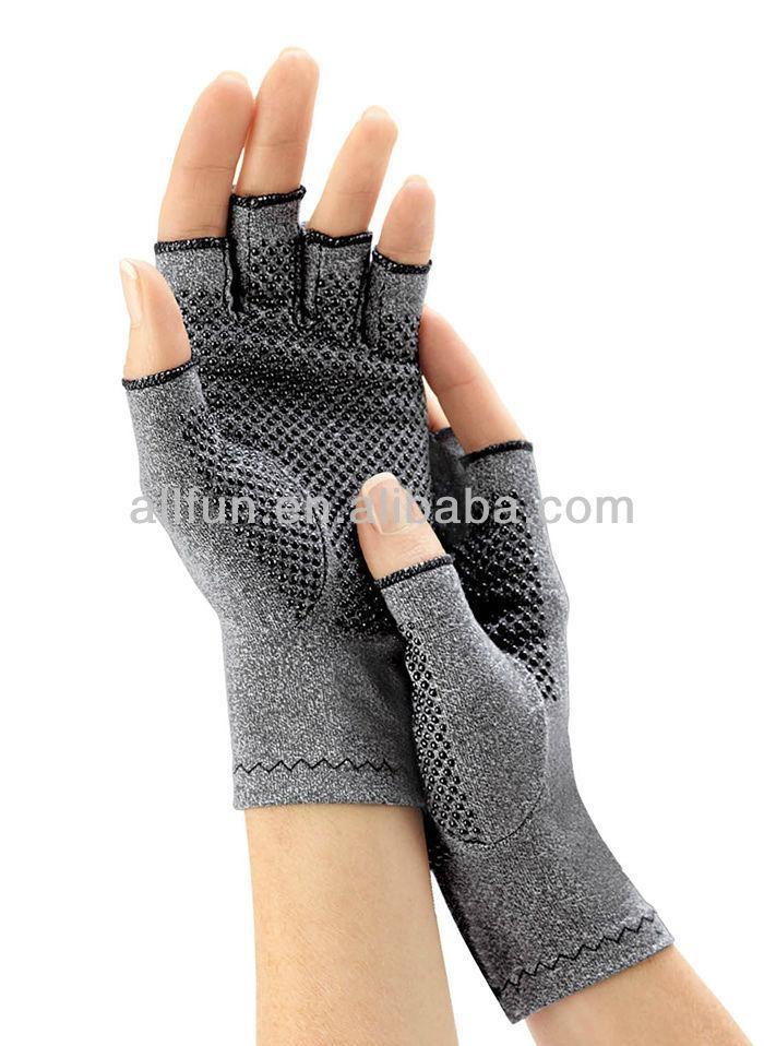 磁力點硅膠關節炎手套,用於緩解關節腫脹痛苦 3