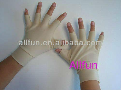 磁力點硅膠關節炎手套,用於緩解關節腫脹痛苦 5