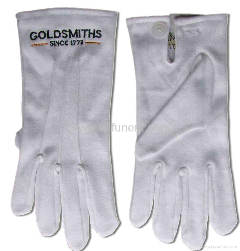 Printed gloves/masonic glove/embroidered glove/Men's formal gloves 2