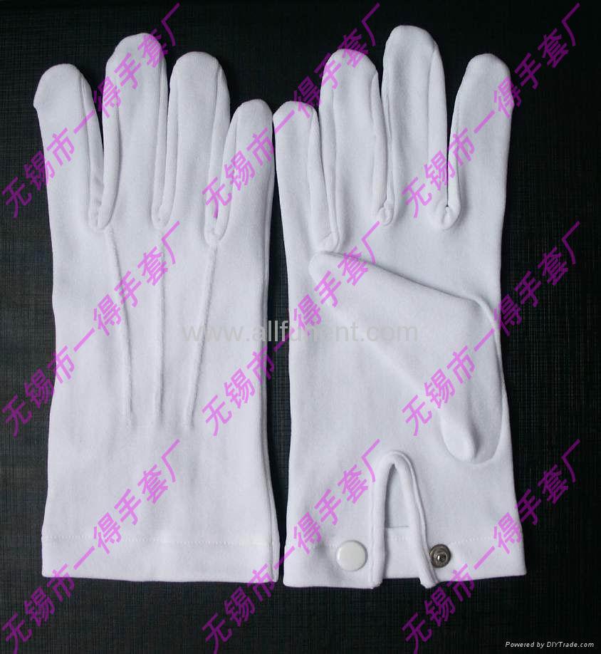 尼龍手套//禮儀手套/男士正裝手套/彈力尼龍花園手套 1