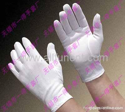 尼龍手套//禮儀手套/男士正裝手套/彈力尼龍花園手套 3
