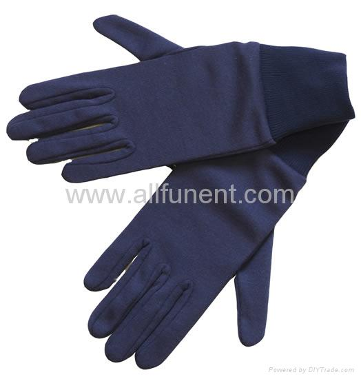 尼龍手套//禮儀手套/男士正裝手套/彈力尼龍花園手套 5