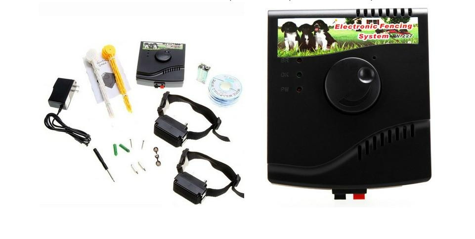 Dog Fence Waterproof Electronic Pet Dog Fencing System W