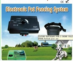 Underground Electric Dog Fence with Dog   Collars
