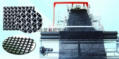 Drainage net production line