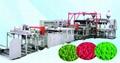 Plastic lawn production line
