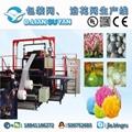 Plastic packaging net machine