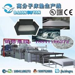 Coil mattress production line
