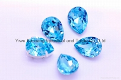 Jewelry beads, fancy stone 4320 style crystal beads