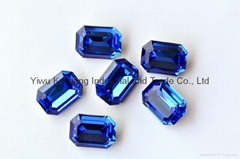 K9 Glas stone 4610 Octangle shape crystal beads, for jewelry accessories