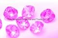 K9水晶玻璃,12肥方,粉紅