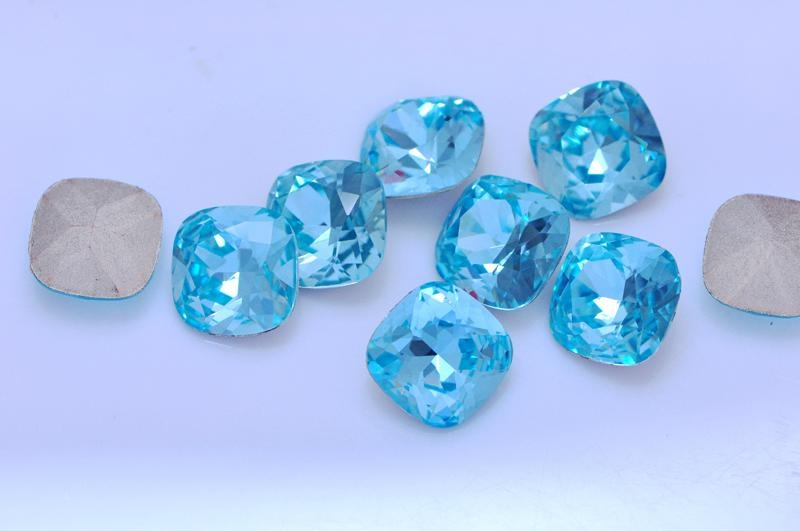 K9 Glas stone 4470 cushion cut shape crystal beads, for jewelry accessories 1