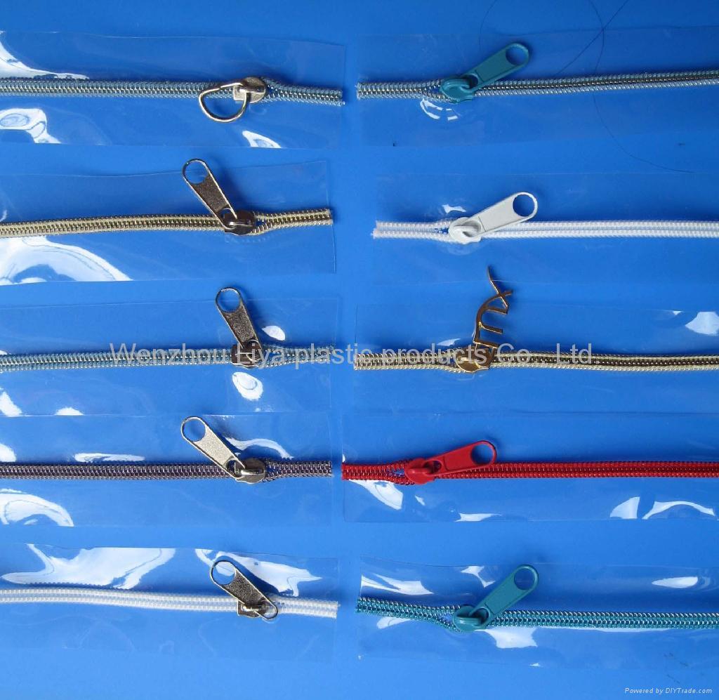 PVC bag zipper 1