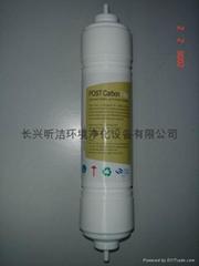 韓式後置椰殼活性炭快接濾芯(1007)