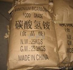 Ammonium bicrabonate food grade