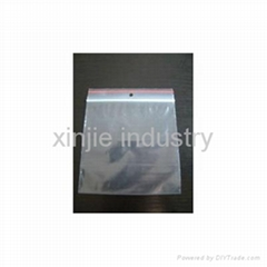 LDPE reclosable bag