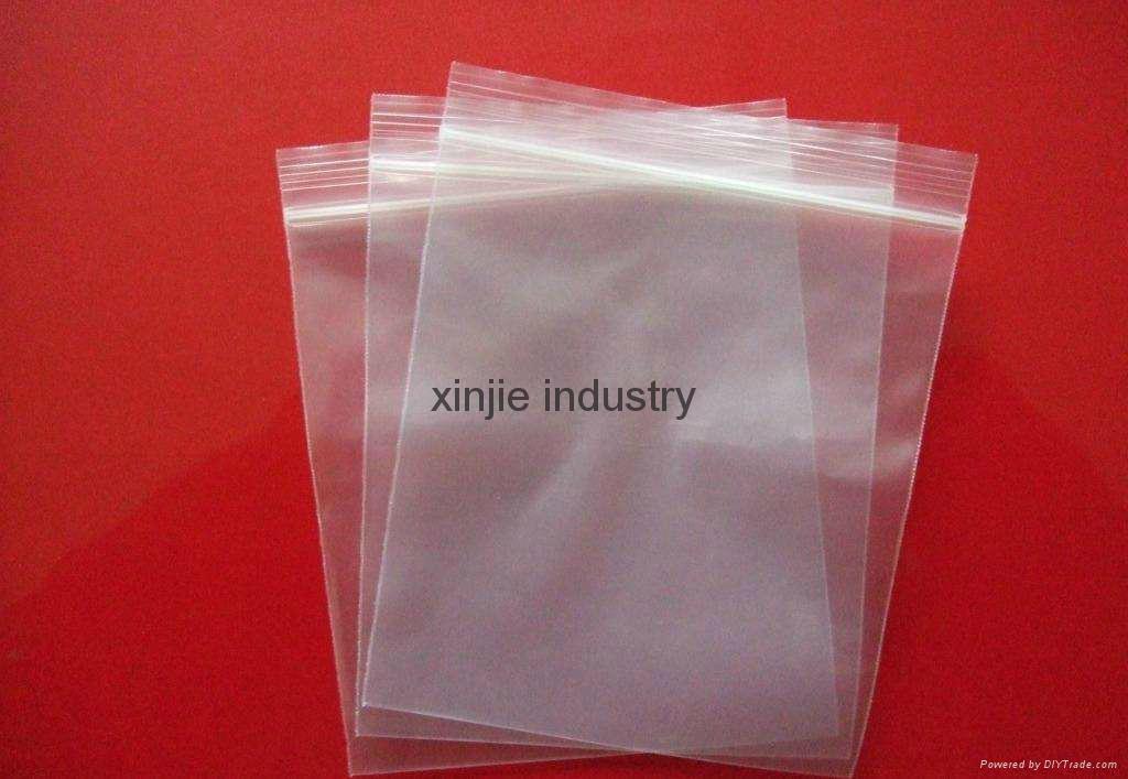 LDPE reclosable bag 1