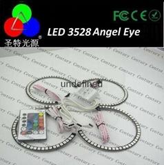 RGB 5050 LED Angel Eyes with Remote Control